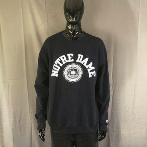 Champion Shirts - Champion Notre Dame Crewneck Sweatshirt